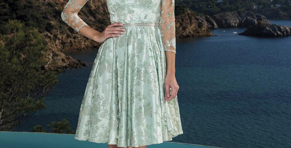 haute couture βραδυνο φορεμα δαντελλα Γαλλιας ανοιχτο βεραμαν atelier tsourani