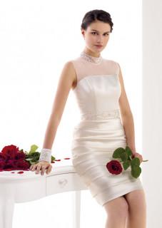 Νυφικό Πολιτικού Γάμου Atelier Tsourani