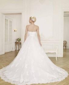 ρομαντικα νυφικα silk chiffon embroided atelier tsourani