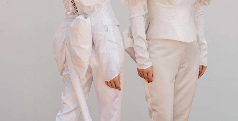 atelier-tsourani-bridal-νυφικο-πολιτικου-γάμου-ντε-πιες-συνδυασμός-soie-sauvage-και-satin
