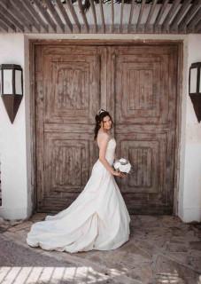 atelier tsourani bridal ολομεταξο Ταφτα